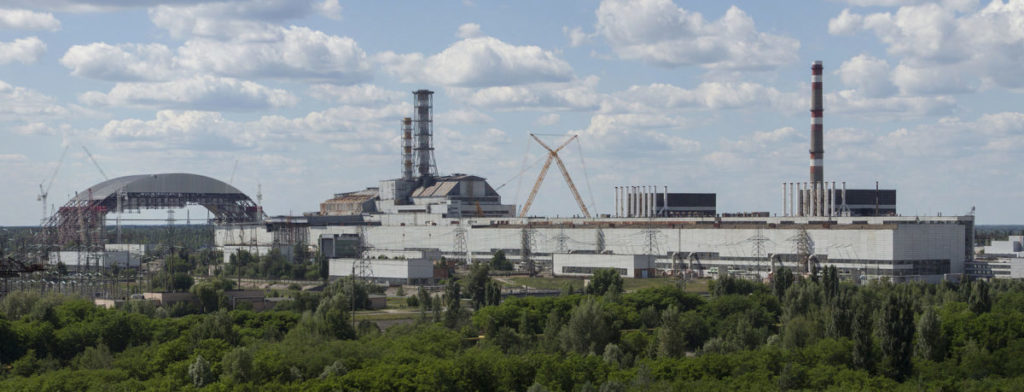 Zonnecellen project op gebied rondom Tsjernobyl